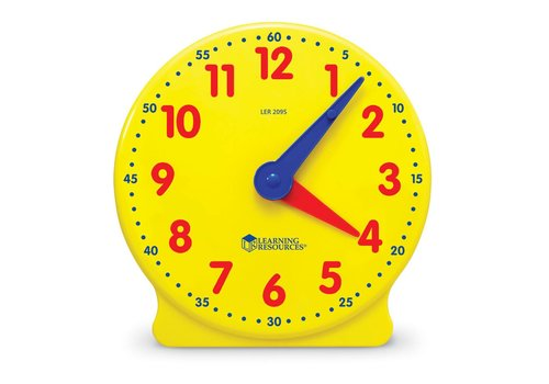 "Learning Resources Big Time 5"" Student Clock"