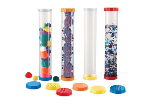 Learning Resources Primary Science Sensory Tubes, Set of 4