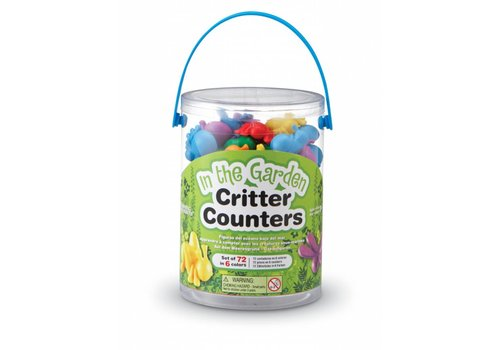 Learning Resources In the Garden Critter Counters