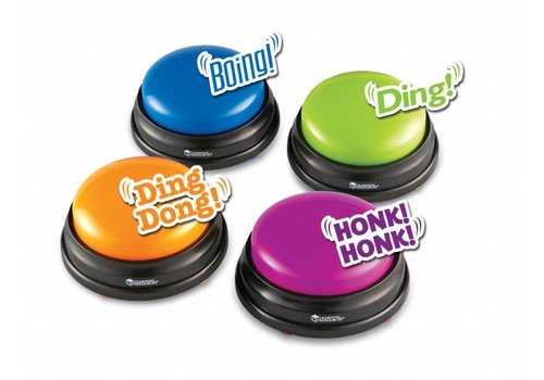 Learning Resources Answer Buzzers, Set of 4 *