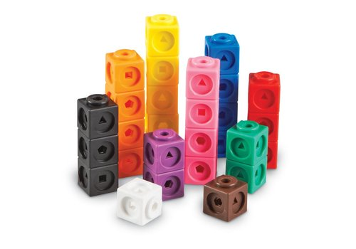 Learning Resources MathLink Cubes, Set of 100 *