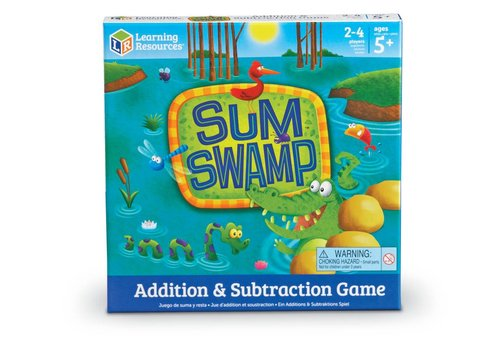 Learning Resources Sum Swamp Addition & Subtraction Game