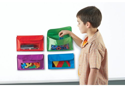 Learning Resources Magnetic Storage Pockets
