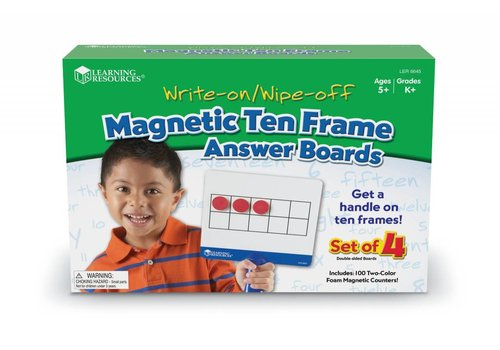 Learning Resources Magnetic Ten-Frame Answer Boards *