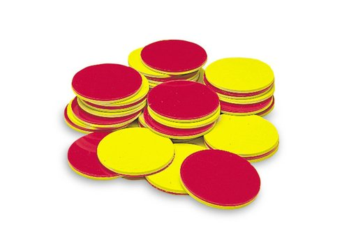 Learning Resources Red & Yellow Counters, Set of 200 *