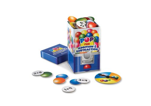 Learning Resources Pop for Addition & Subtraction Game *