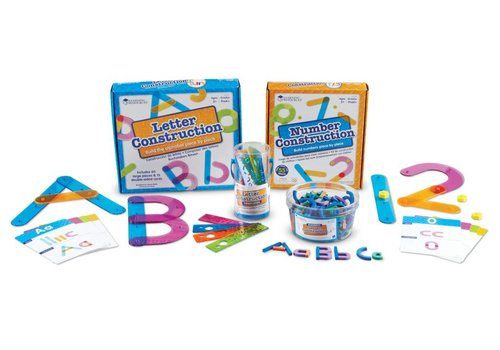 Learning Resources Letter and Number Construction Kit