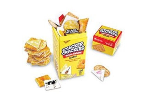 Learning Resources Stacker Crackers Picture Alphabet Game