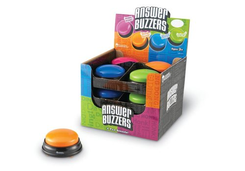 Learning Resources Single Answer Buzzer