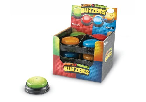Learning Resources Single Lights and Sounds Buzzer