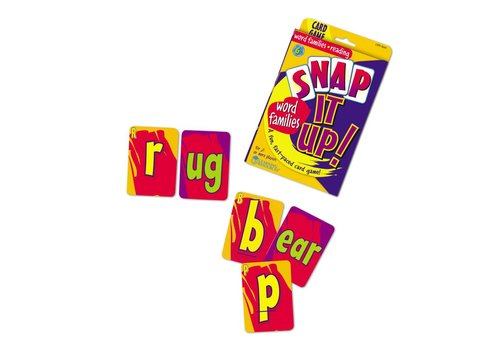 Learning Resources Snap It Up Word Families Game *