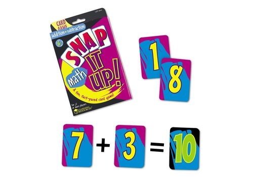 Learning Resources SNAP it up Math! Addition & Subtraction