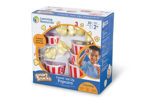 Learning Resources Count 'Em Up Popcorn