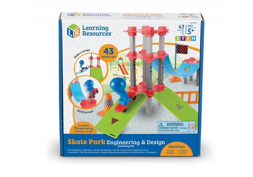 Learning Resources Engineering & Design Building Set - SKATE PARK