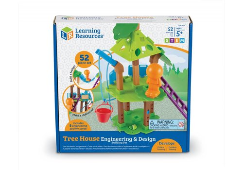 Learning Resources Engineering & Design Building Set - TREE HOUSE