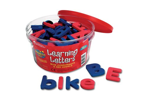 Learning Resources Magnetic Learning Letters, Upper & Lowercase (104 pc)