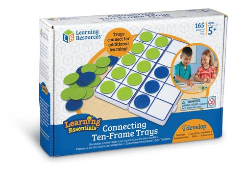 Learning Resources Connecting Ten-Frame Tray Set