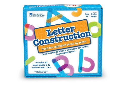 Learning Resources Letter Construction Set