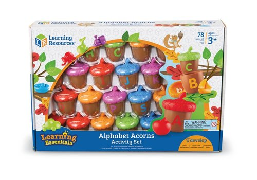 Learning Resources Alphabet Acorns Activity