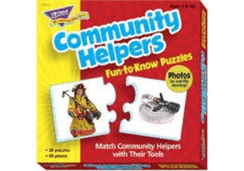 Trend Enterprises Community Helpers Fun to Know Puzzle *