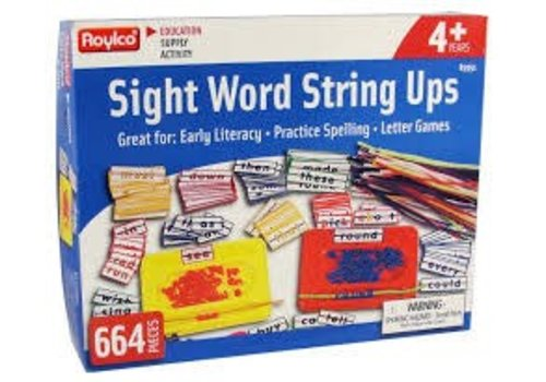 ROYLCO Roylco: Sight Word String Ups