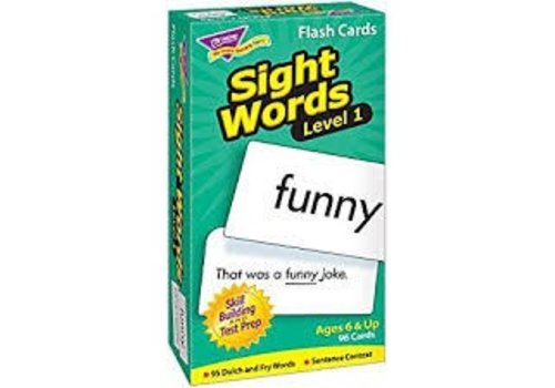 Trend Enterprises Sight Words - Level 1 Flashcards *
