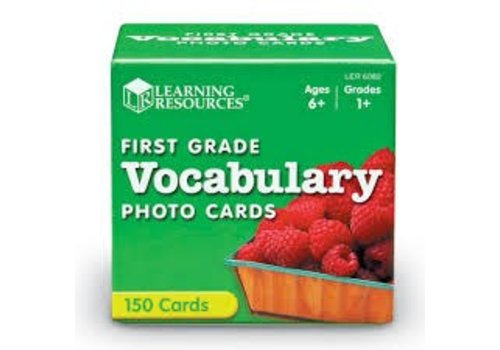 Learning Resources First Grade Vocabulary Cards