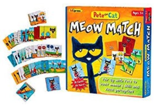 Teacher Created Resources Meow Match Pete the Cat