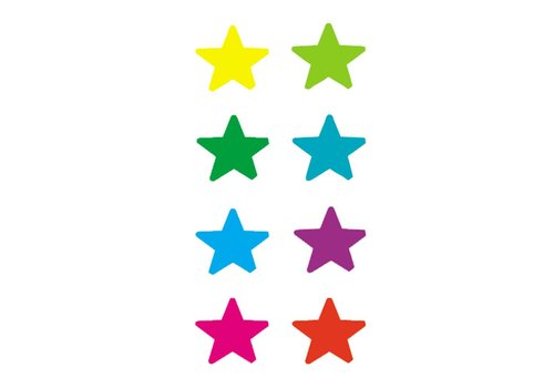 Teacher Created Resources Stars Mini Stickers