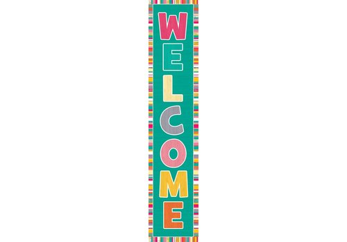Teacher Created Resources Tropical Punch Welcome Banner