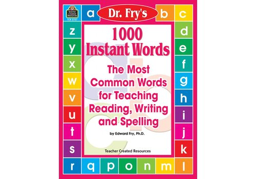 Teacher Created Resources 1000 Instant Words by Dr. Fry