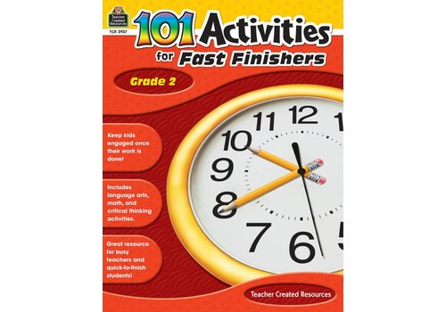 Teacher Created Resources 101 Activities for Fast Finishers (Gr. 2)