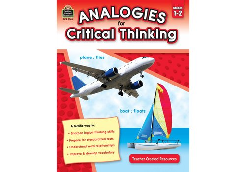 Teacher Created Resources Analogies for Critical Thinking Grades 1-2