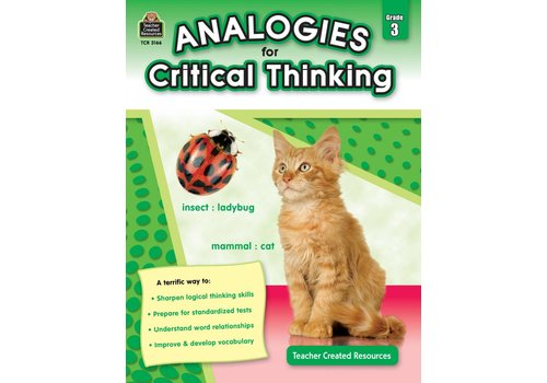 Teacher Created Resources Analogies for Critical Thinking Gr. 3