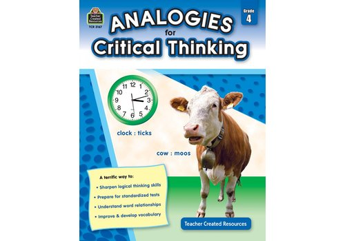 Teacher Created Resources Analogies for Critical Thinking Gr. 4
