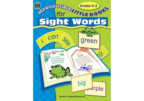Teacher Created Resources Reproducible Little Books for Sight Words