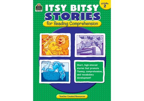 Teacher Created Resources Itsy Bitsy Stories for Reading Comprehension (Gr. 2)
