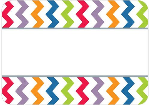 Creative Teaching Press Chevron Labels