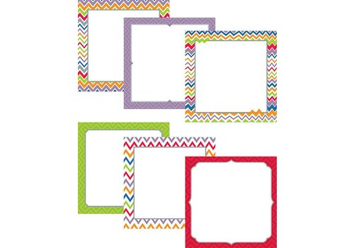 "Creative Teaching Press Chevron 6"" Designer Cut-Outs"
