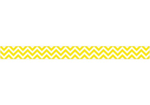 Creative Teaching Press Yellow Chevron Border