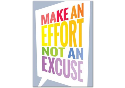 Creative Teaching Press Make an Effort... Inspire U Poster