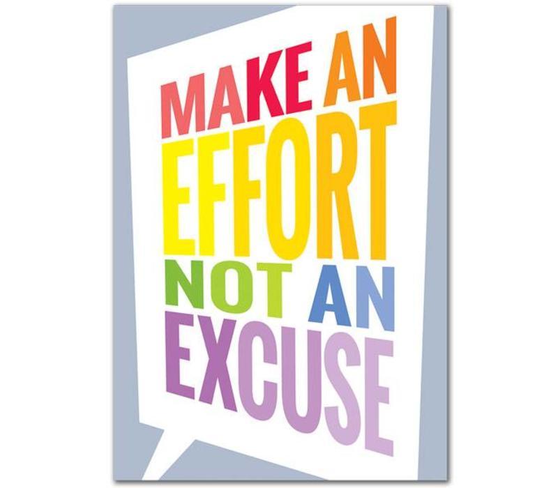 Make an Effort... Inspire U Poster*
