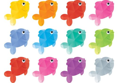 Teacher Created Resources Colorful Fish Mini Accents *