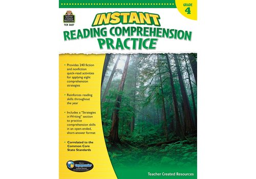 Teacher Created Resources Instant Reading Comprehension Practice (Gr. 4)