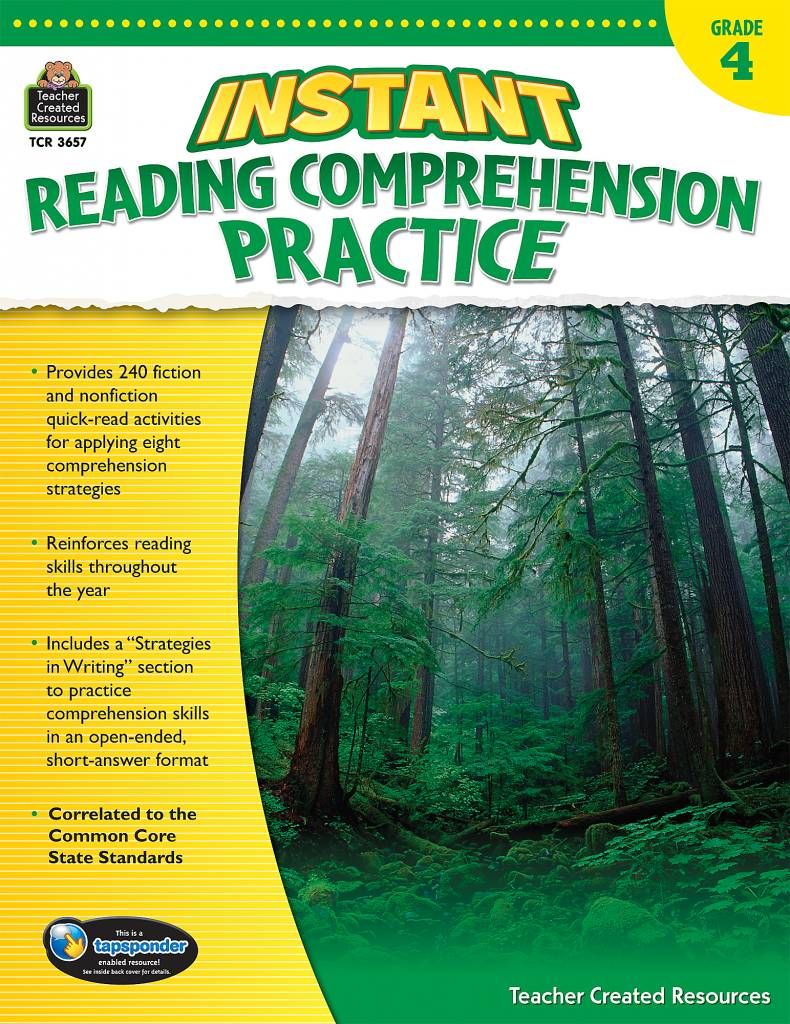 - Instant Reading Comprehension Practice (Gr. 4) - Learning Tree