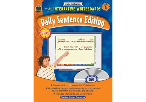 Teacher Created Resources Interactive Whiteboards Daily Sentence Editing Gr 4