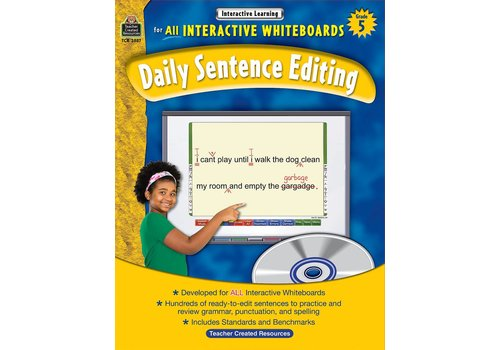 Teacher Created Resources Interactive Whiteboards Daily Sentence Editing Gr 5