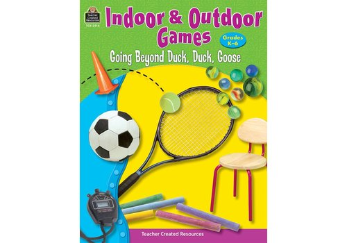 Teacher Created Resources Indoor & Outdoor Games K-6