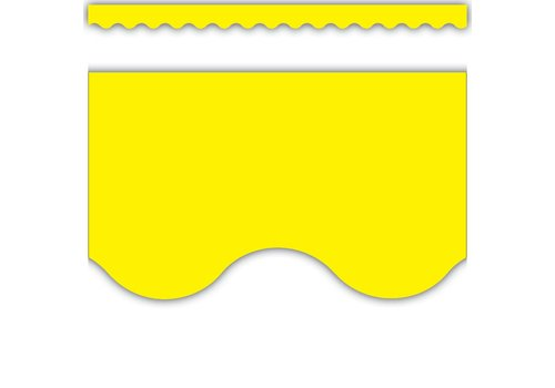 Teacher Created Resources Yellow Scalloped Border Trim*