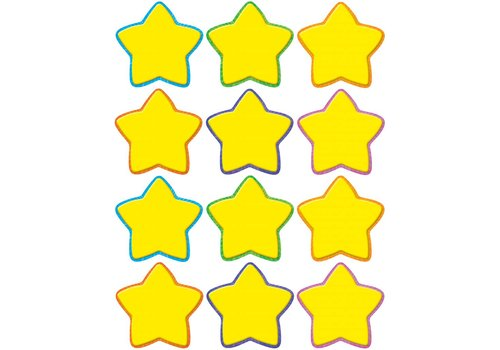 Teacher Created Resources Yellow Stars Mini Accents